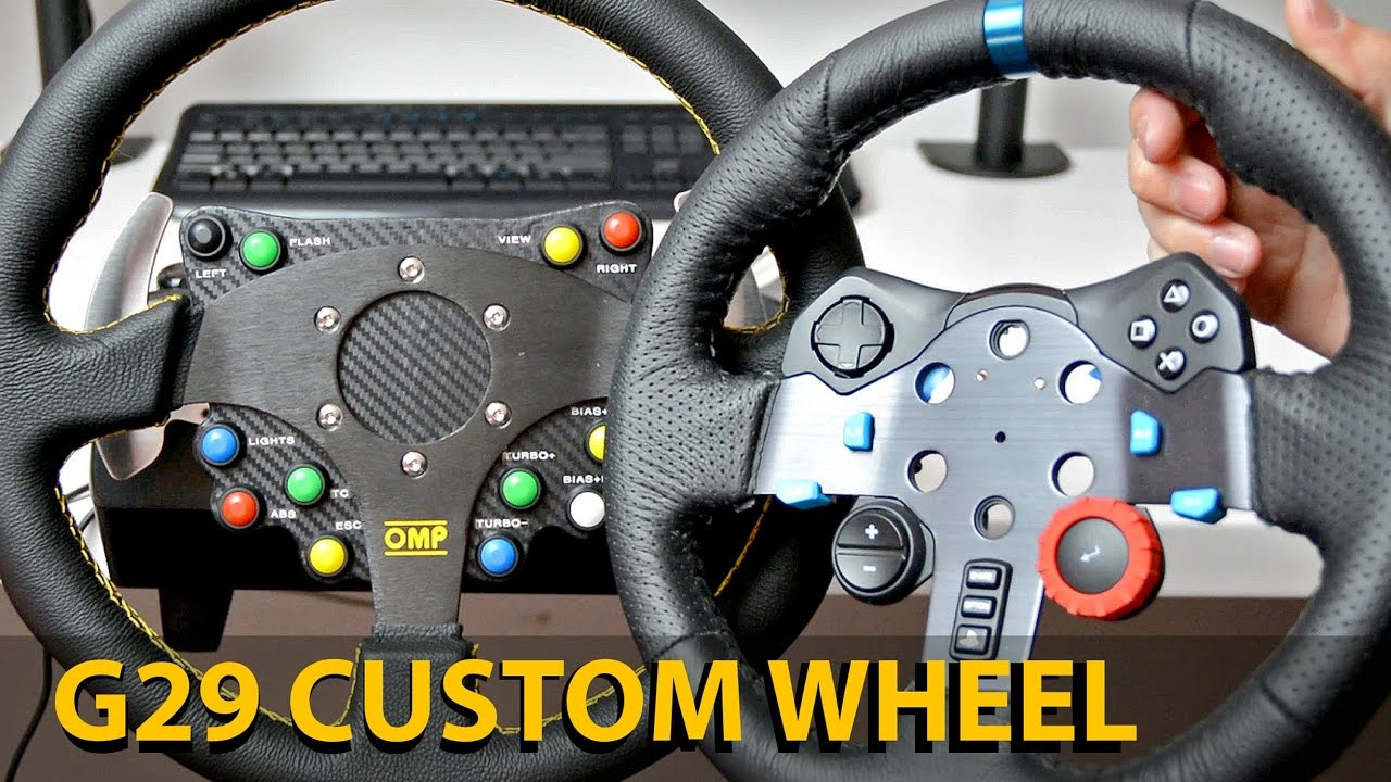 diy customise ton logitech g29 objectif racing le hub des simracers sur pc ps4 et xbox. Black Bedroom Furniture Sets. Home Design Ideas