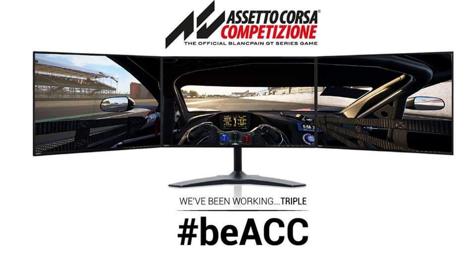 Support triple écran bientôt disponible pour Assetto Corsa ...